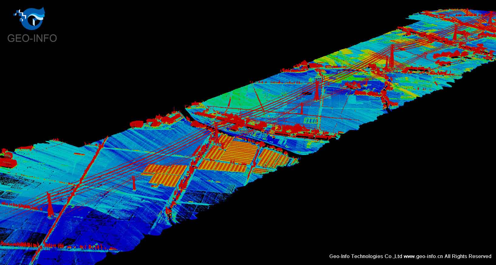 GUL-70 UAV Lidar system maps power transmission lines in China !