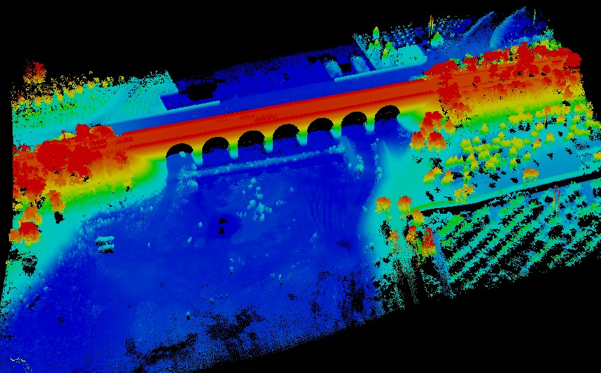 5KG LiDAR System Flying Test and Result Data !