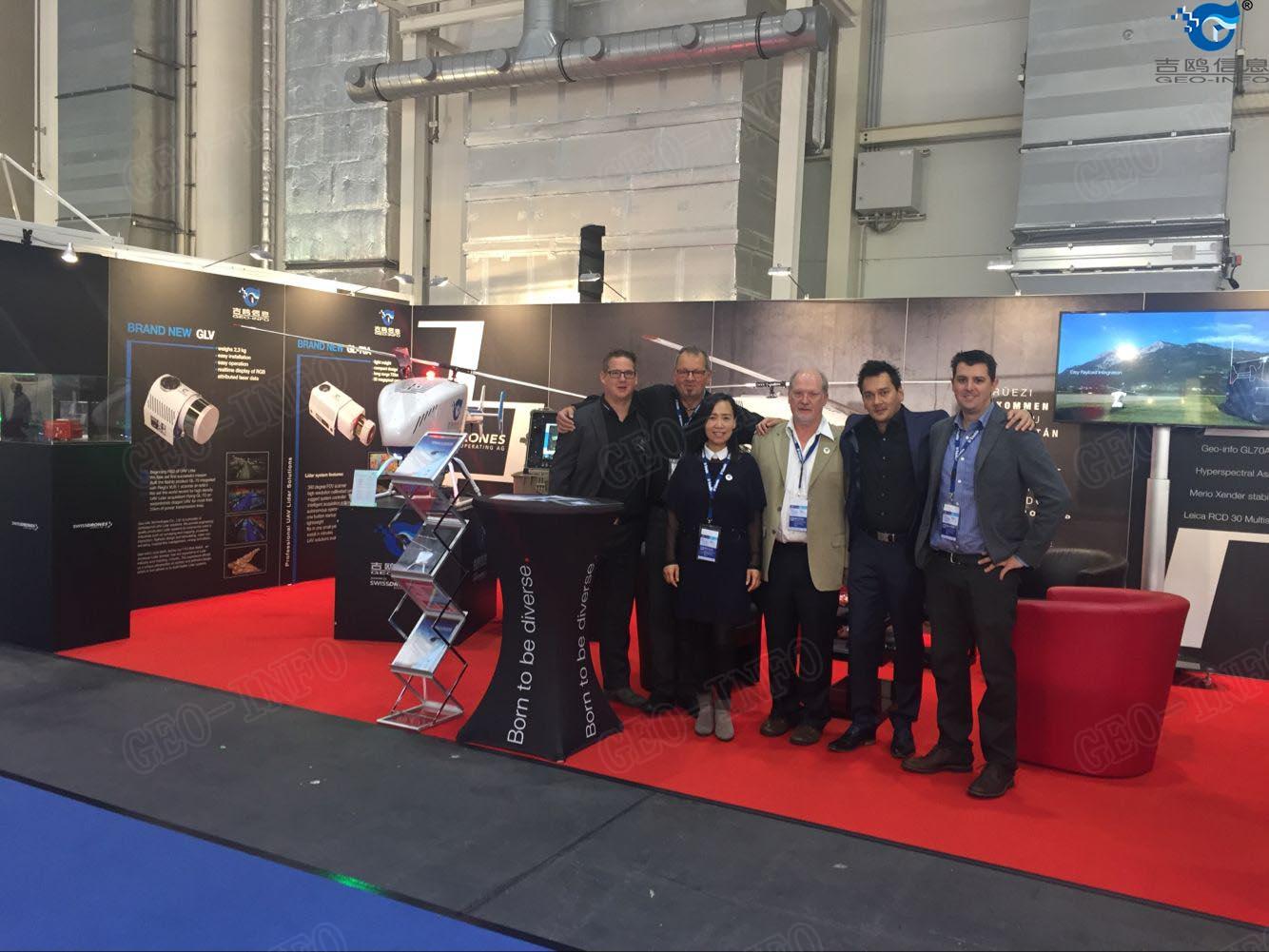 GL-70A、GLV亮相德国2016 INTERGEO 展会